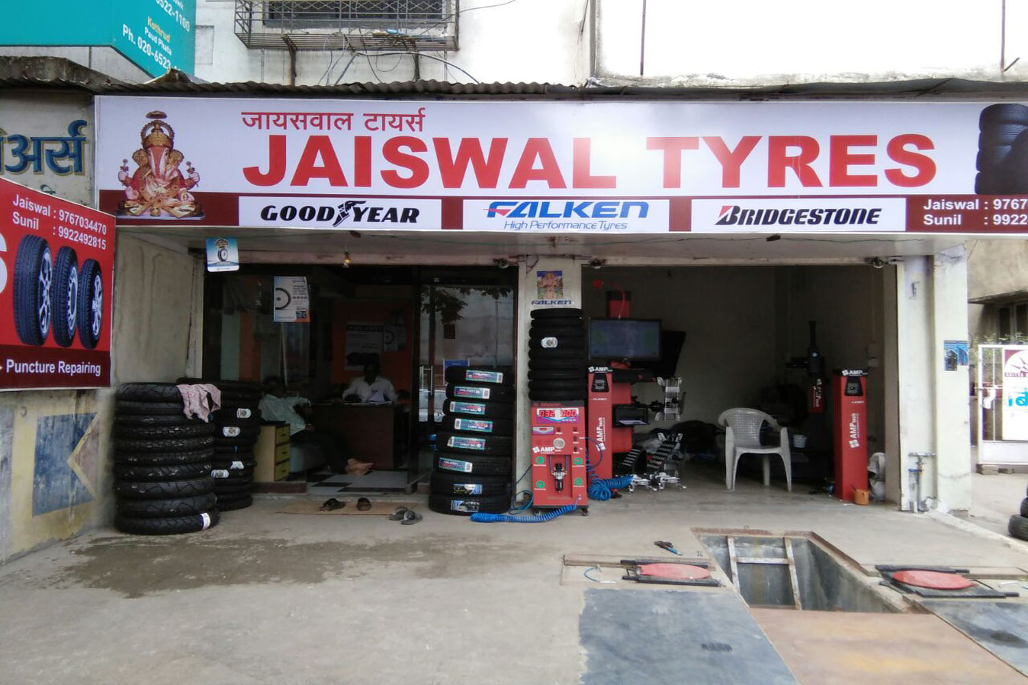 jaiswal tyres customer