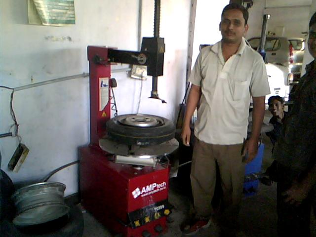 bablu limbanna wheel care nagpur customer